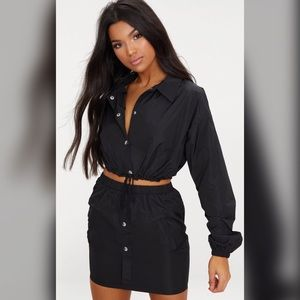 Black shell JACKET ONLY